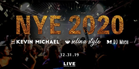 NYE 2020 at LIVE Nightclub tickets