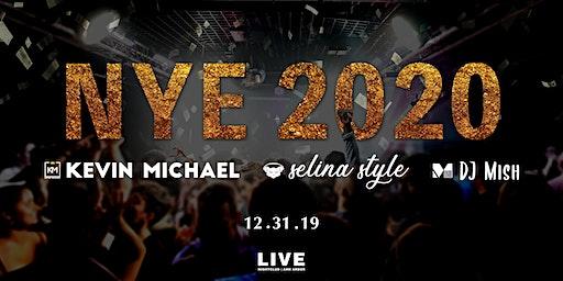 NYE 2020 at LIVE Nightclub