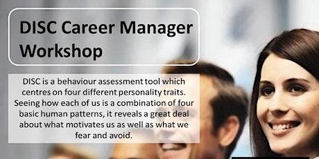 DISC Career Manager Workshop tickets