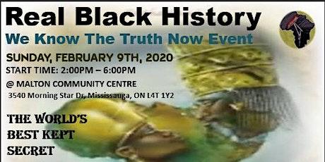 Real Black History World's Best Kept Secret tickets