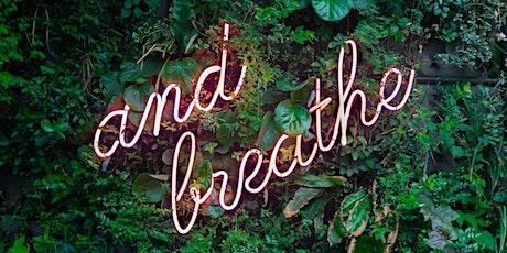 BREATHE FOCUS RELAX WORKSHOP tickets