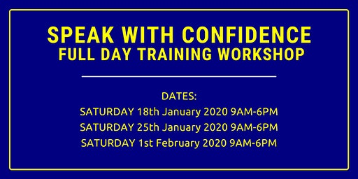 Speak With Confidence FULL DAY Training Workshop Nairobi