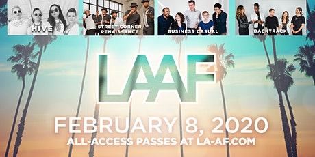 LAAF 2020 Professional Showcase + LIVE A Cappella Video Awards tickets