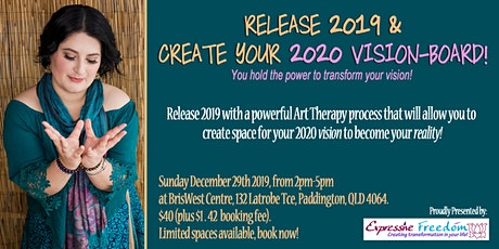 RELEASE 2019 & CREATE YOUR 2020 VISION-BOARD! tickets