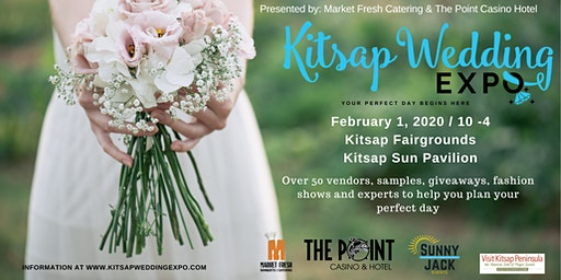 Kitsap Wedding Expo Presented by Market Fresh Catering & The Point Casino