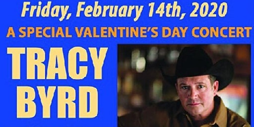 TRACY BYRD  -  In Concert Valentine's Night FEB 14th  -  Downtown Melbourne