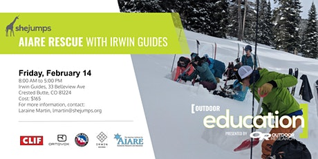 CO SheJumps AIARE Rescue with Irwin Guides tickets