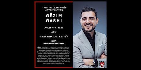 HALIS: Gëzim Gashi at Harvard University tickets