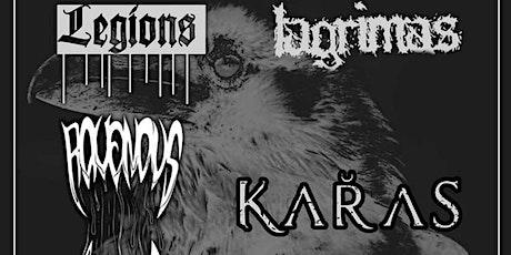 RHP Presents: KARAS, Legions, Lagrimas + more tickets