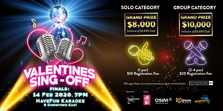 Valentines Day Sing-Off  2020 tickets