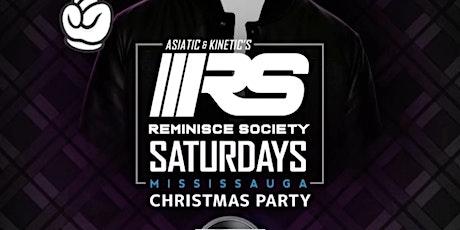 REMINISCE SOCIETY SATURDAYS   CHRISTMAS PARTY 2019 tickets
