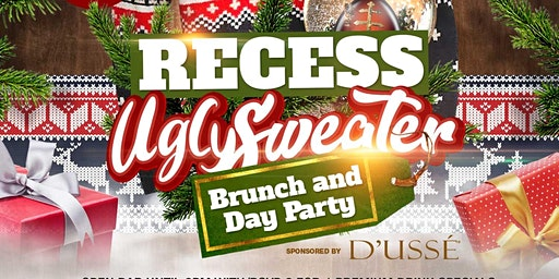 Recess Ugly Sweater brunch Yung B