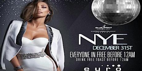 9TH ANNUAL NEW YEAR EVE @CLUB EURO tickets