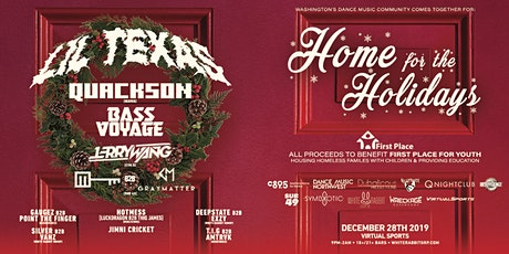 Home For the Holidays ft Lil Texas tickets