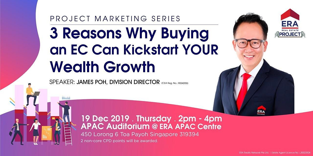 Project Marketing Series: 3 Reasons Buying an EC Can Kickstart Your Wealth