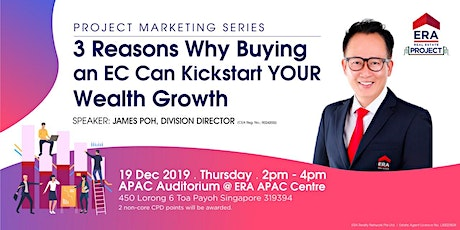 Project Marketing Series: 3 Reasons Buying an EC Can Kickstart Your Wealth tickets