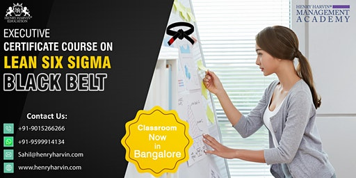 Lean Six Sigma Black Belt Course in Bangalore