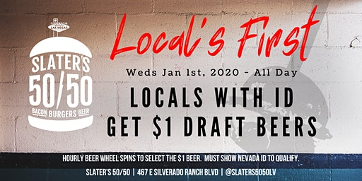 Local's FIRST - $1 Craft Beers for Locals