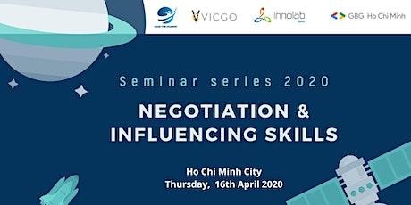 Seminar series: Negotiation & Influencing Skills tickets