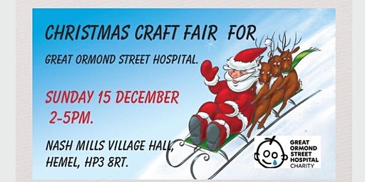 Christmas Craft Fair For Great Ormond Street Hospital.