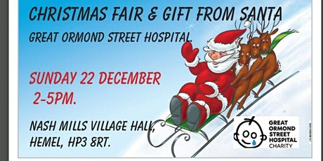 Christmas Fair & Gift From Santa For Great Ormond Street Hospital. tickets