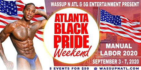 Atlanta Black Pride For Men 2020 tickets