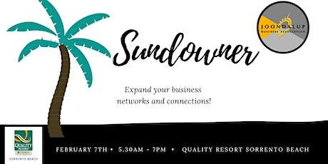 Sundowner tickets