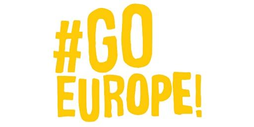 #GoEurope! L'UE per fare volontariato e farsi sentire
