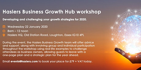 Haslers Business Growth Hub Workshop - Jan 2020 tickets