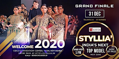 STYLLIA'  India's Next Top Model (West)  2020 tickets