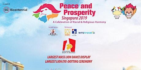 Peace & Prosperity Singapura 2019 tickets