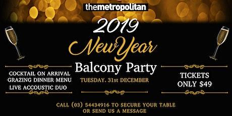 NYE Balcony Party - The Metropolitan Hotel Bendigo tickets