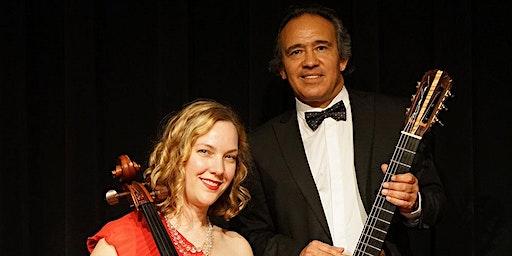 Alfredo Muro and Valdine Mishkin at Archer Vineyards (  Duo Apaixonado )