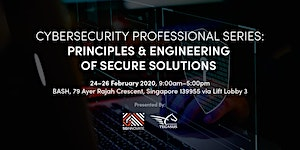 Principle and Engineering of Secure Solution (24 - 26...