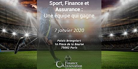 Sport, Finance et Assurance : une équipe qui gagne billets