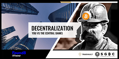 Singapore Bitcoin Club: Decentralization (17th) tickets
