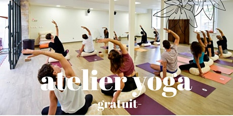 ATELIER YOGA : VOI X YOGA WITH YOU - GRATUIT billets