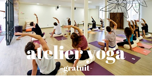 ATELIER YOGA : VOI X YOGA WITH YOU - GRATUIT