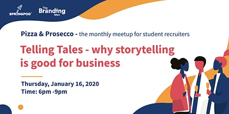 Pizza & Prosecco: Telling Tales - why storytelling is good for business tickets