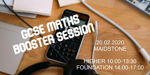 GCSE Maths Booster session