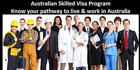 TEC Singapore: Australian Skilled VISA Program Information Session tickets
