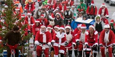 Cardiff Cycle City Xmas Festivities