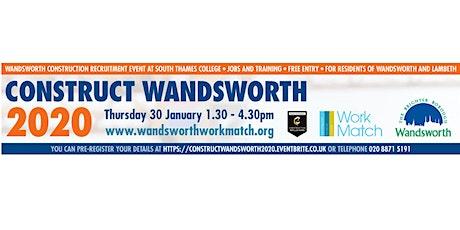 Construct Wandsworth 2020 tickets