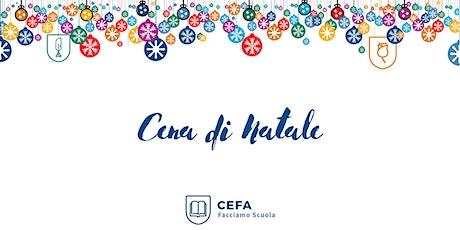 Cena di Natale Docenti CEFA biglietti
