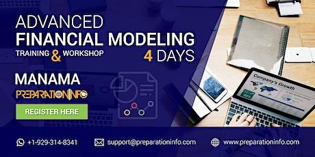 Advanced Financial Modeling Classroom Training Manama Bahrain 4Days tickets