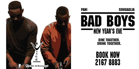 """Bad Boys"" New Year's Eve Dinner Party tickets"