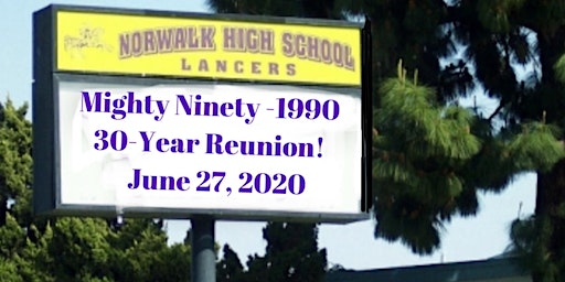 Norwalk High 1990 30-Year Reunion