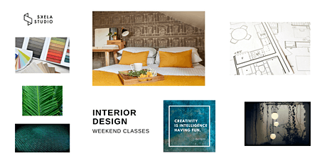 Interior design workshop with lunch, 25th of April 2020, Edinburgh tickets