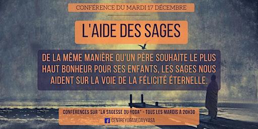 Conférences sur LA SAGESSE DU YOGA