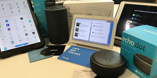 Alexa, Siri, Hey Google.. who?! - Milngavie Library